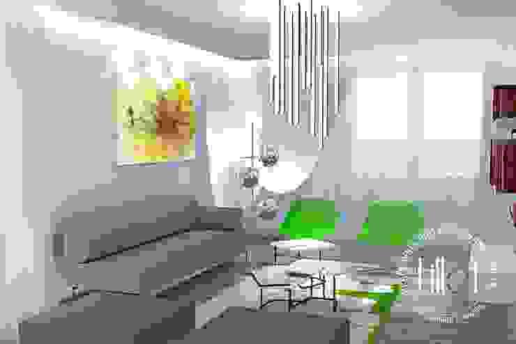 Salones de estilo moderno de Pracownia projektowa Atelier Lillet Moderno
