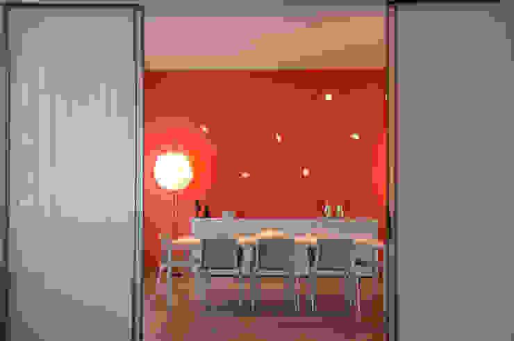 ห้องทานข้าว โดย Emanuela Orlando Progettazione, โมเดิร์น