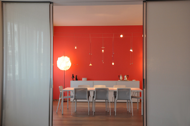 Dining room by Emanuela Orlando Progettazione, Modern