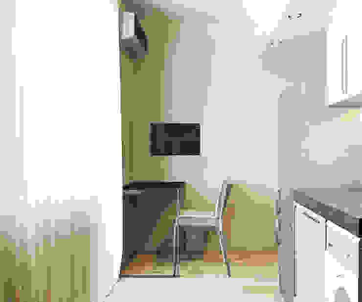Квартира на Чистопольской Кухня в стиле минимализм от DOMOS Студия дизайна интерьеров и ремонта Минимализм
