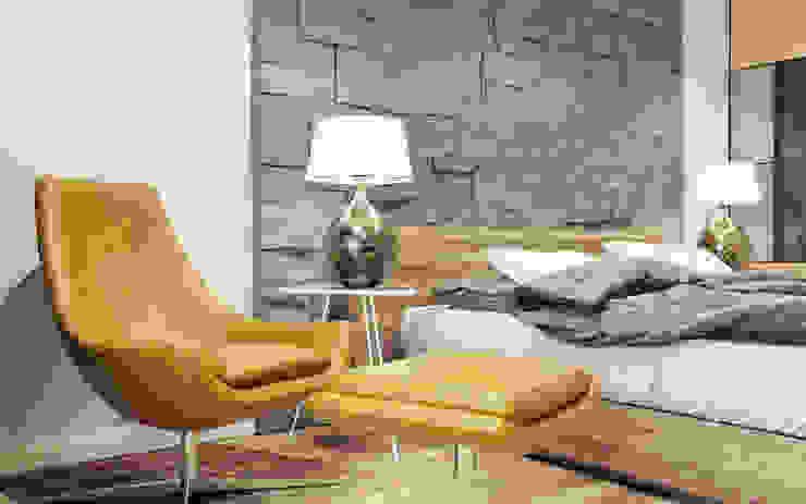 Квартира на Чистопольской Спальня в стиле минимализм от DOMOS Студия дизайна интерьеров и ремонта Минимализм