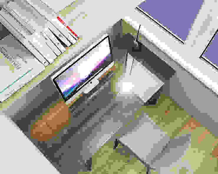 Квартира на Чистопольской Балкон и терраса в стиле минимализм от DOMOS Студия дизайна интерьеров и ремонта Минимализм