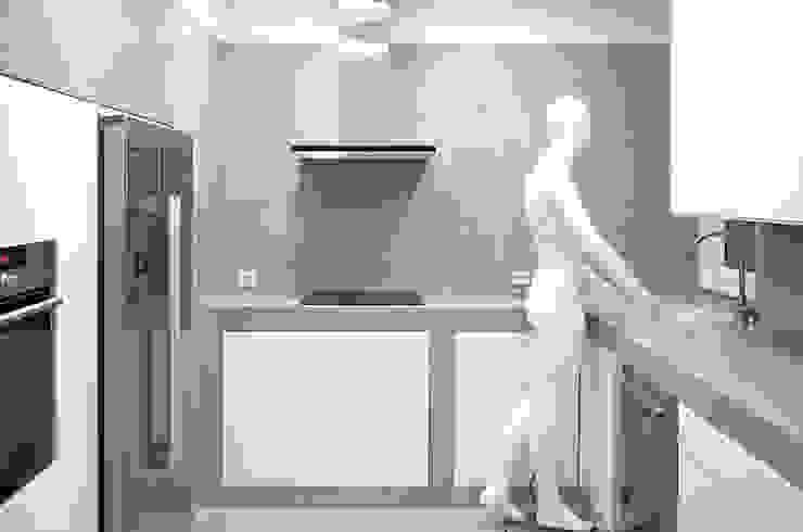 MEETING POINT Cocinas de estilo moderno de soma [arquitectura imasd] Moderno