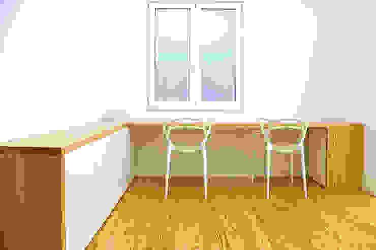 MEETING POINT Estudios y despachos de estilo moderno de soma [arquitectura imasd] Moderno