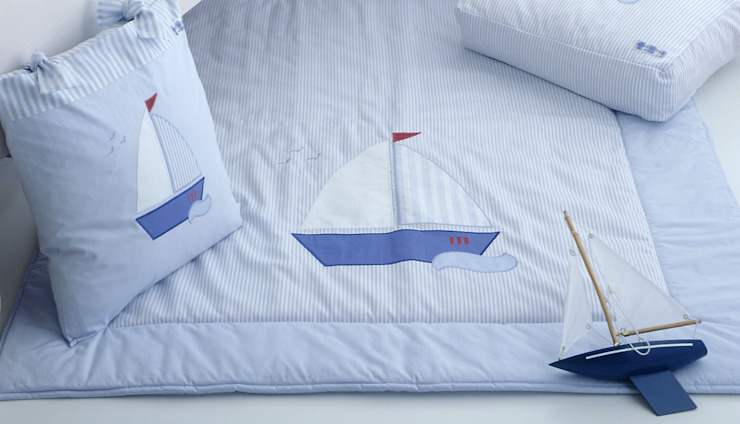 Sail Boat Quilt : modern  by The Baby Cot Shop, Modern