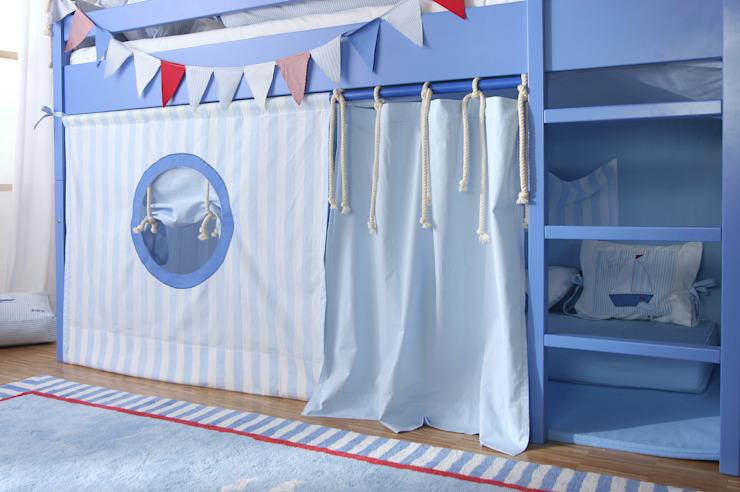 Sail Boat Mid Sleeper Bed : modern  by The Baby Cot Shop, Modern