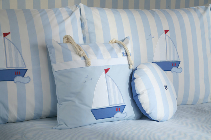 Sail Boat Cushions : modern  by The Baby Cot Shop, Modern