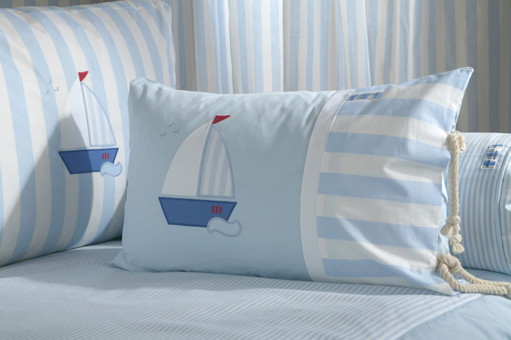 Sail Boat Cushion : modern  by The Baby Cot Shop, Modern
