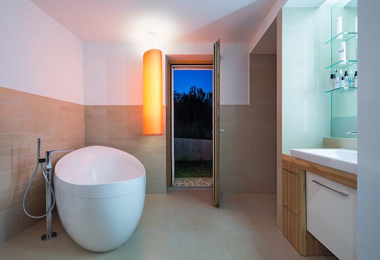 Bathroom by Abendroth Architekten, Modern
