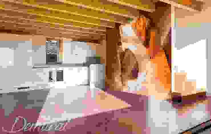 A caramel canyon de Demural Moderno