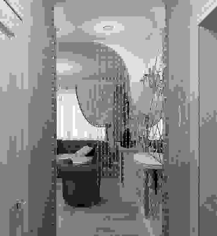 Легкая классика Коридор, прихожая и лестница в классическом стиле от Алиса Ерыкова Художественное проектирование Классический
