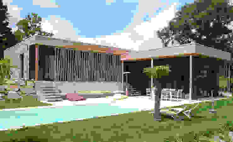 Casas de estilo  por Gilles Cornevin SARL, Moderno