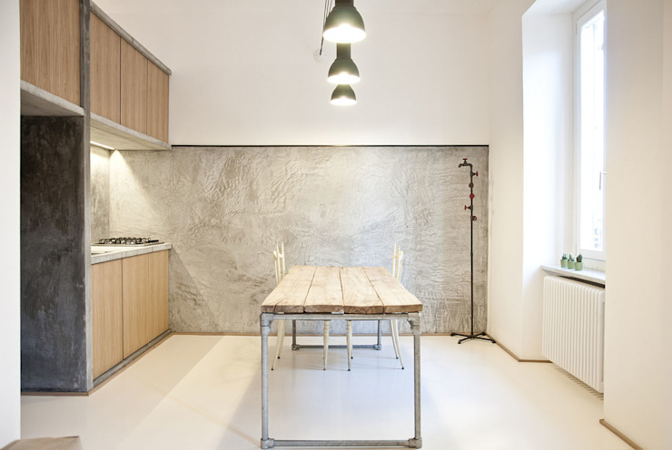 Dining room by R3ARCHITETTI, Minimalist