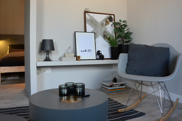 Séjour studio par Insides Moderne