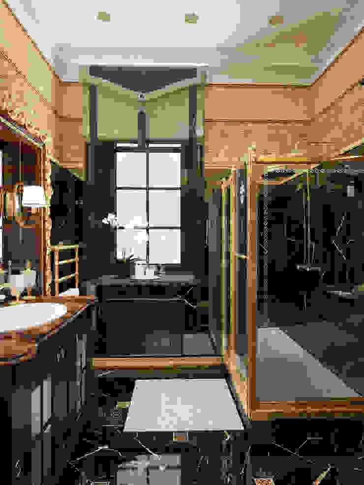 ванная дизайн студия Mucci Ванная в классическом стиле