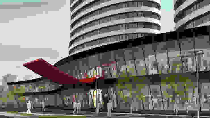 WSTC Lojas & Imóveis comerciais modernos por LDBW – Luiz Deusdara Building Workshop Moderno