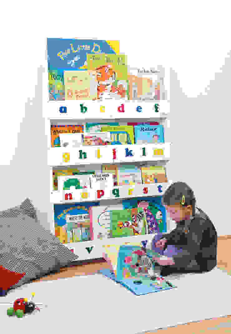 Tidy Books Children's Bookcase - white: modern  by Tidy Books, Modern