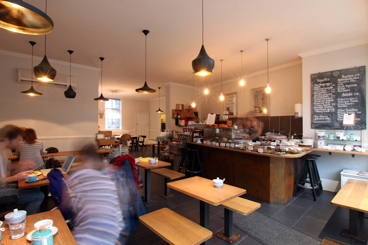 Fee & Brown Coffee House, Beckenham Industrial style gastronomy by Tendeter Industrial