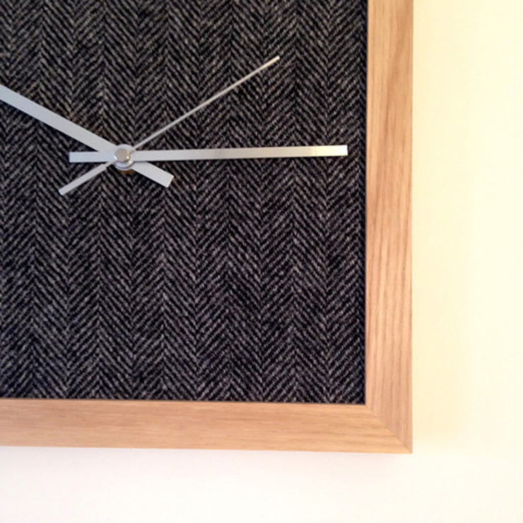 Arthur Tweed Clock: modern  by Andy Murray Design, Modern
