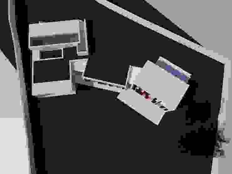 VIVIENDA UNIFAMILIAR EN SOBRADO arquitectura SEN MÁIS Casas de estilo minimalista
