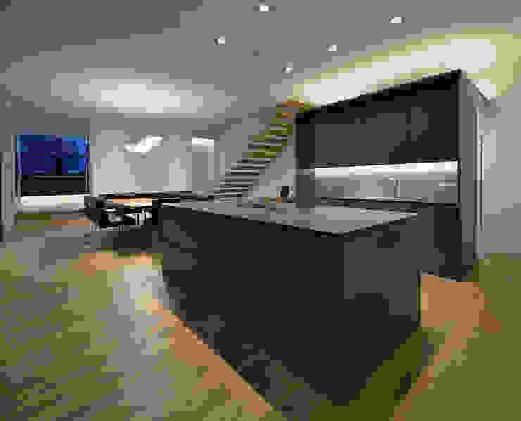 Cozinhas modernas por haas_architektur ZT GmbH Moderno