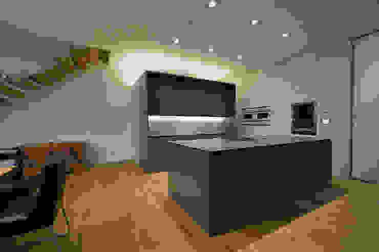 Projekty,  Kuchnia zaprojektowane przez haas_architektur ZT GmbH