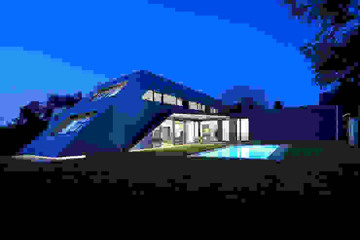 Nowoczesne domy od haas_architektur ZT GmbH Nowoczesny