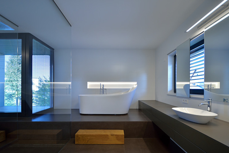 Nowoczesna łazienka od haas_architektur ZT GmbH Nowoczesny