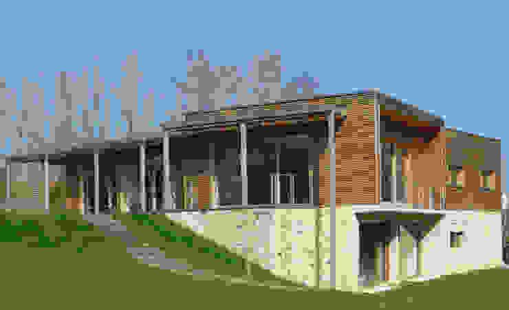 Modern Houses by Gilles Cornevin SARL Modern