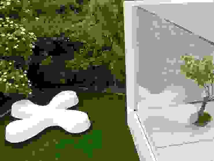 Neugebauer Architekten BDA의  정원, 모던