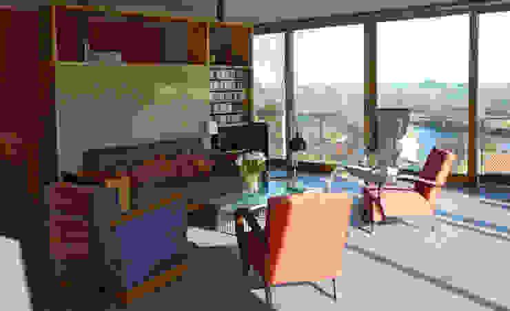 Modern Living Room by Gilles Cornevin SARL Modern