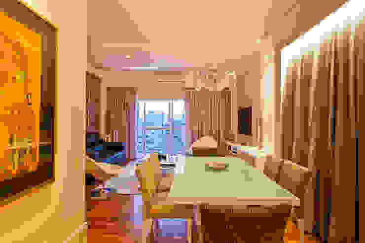 Sala de Jantar Salas de jantar modernas por Enzo Sobocinski Arquitetura & Interiores Moderno Derivados de madeira Transparente