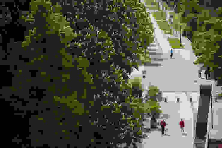 Kurpromenade II GFSL clausen landschaftsarchitekten gruen fuer stadt + leben Klassische Krankenhäuser