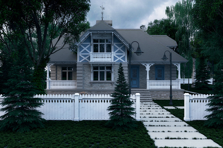 Colonial style house by Максим Любецкий Colonial