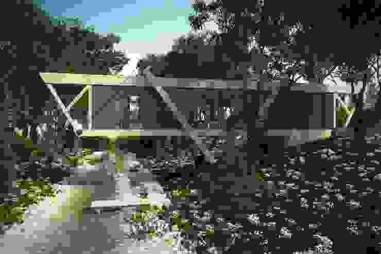 Дом у ручья Дома в стиле минимализм от Максим Любецкий Минимализм