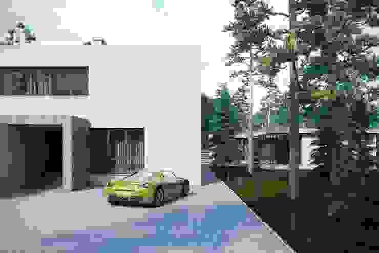 Дом в Омске Дома в стиле минимализм от Максим Любецкий Минимализм