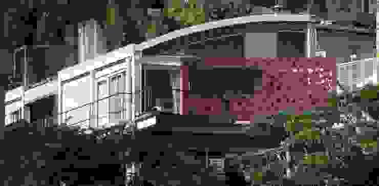 Fachada Casas modernas por Lima Pinheiro Arquitetos Moderno