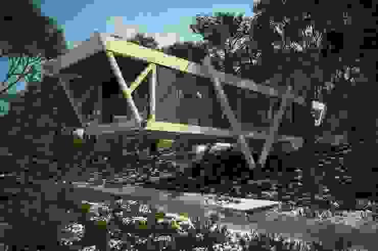 Casas de estilo minimalista de Максим Любецкий Minimalista