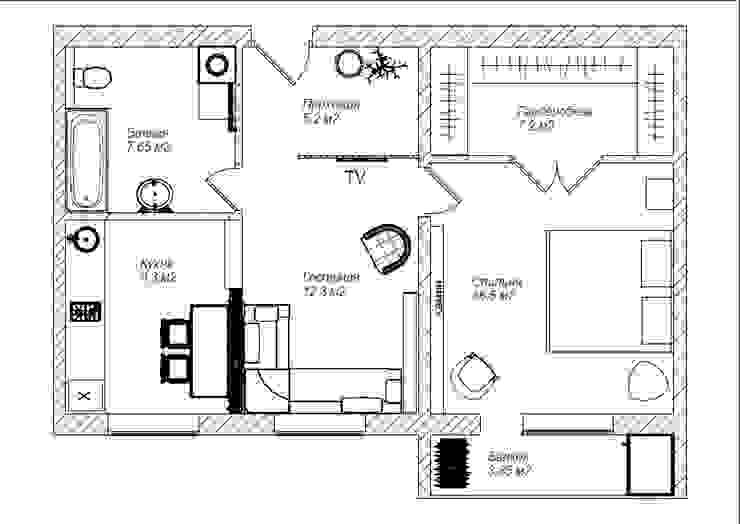 План квартиры от Olesya Parkhomenko
