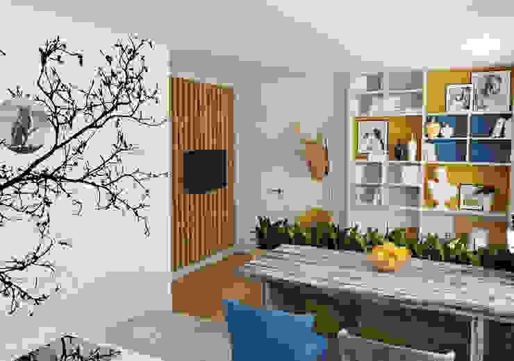 Кухня Кухни в эклектичном стиле от Olesya Parkhomenko Эклектичный