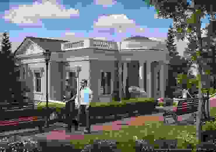 Санаторий <q>Сочи</q> Дома в классическом стиле от Максим Любецкий Классический