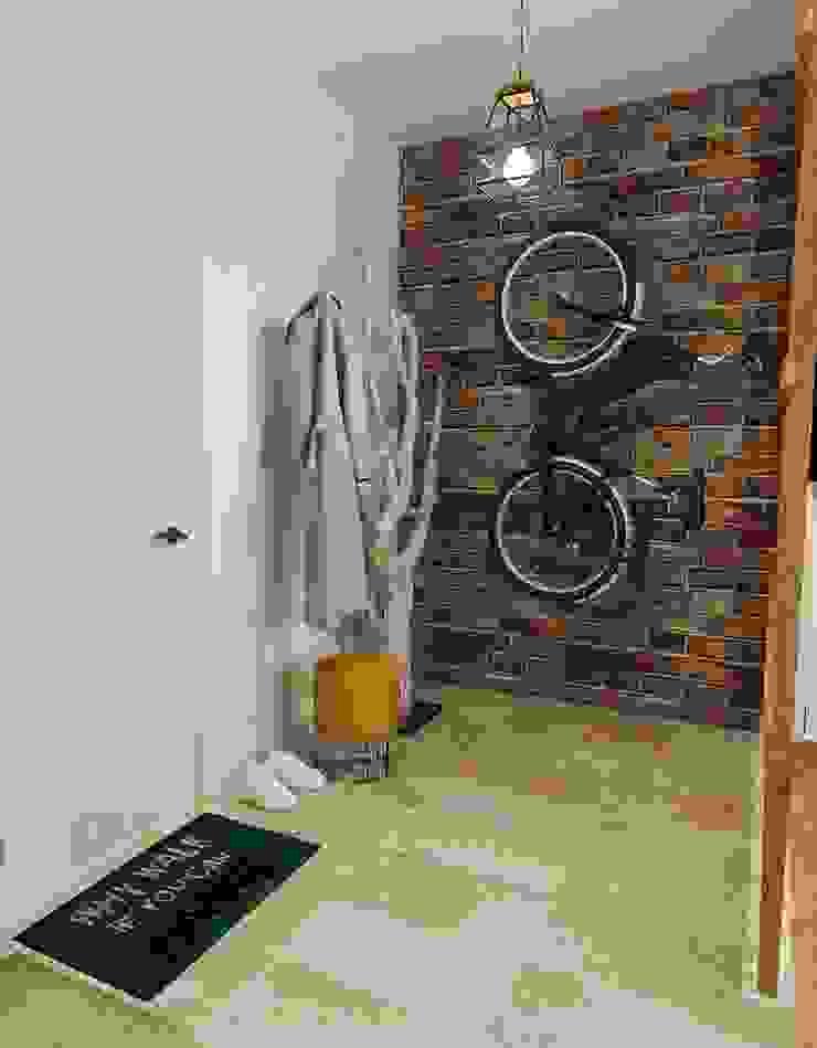 Прихожая Коридор, прихожая и лестница в эклектичном стиле от Olesya Parkhomenko Эклектичный