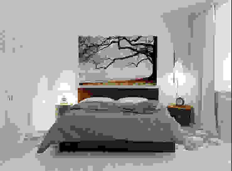 Спальня Спальня в стиле минимализм от Olesya Parkhomenko Минимализм