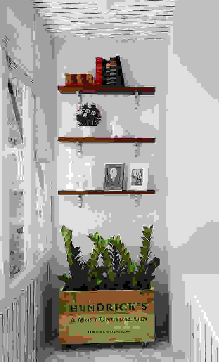 Лоджия Балконы и веранды в эклектичном стиле от Olesya Parkhomenko Эклектичный