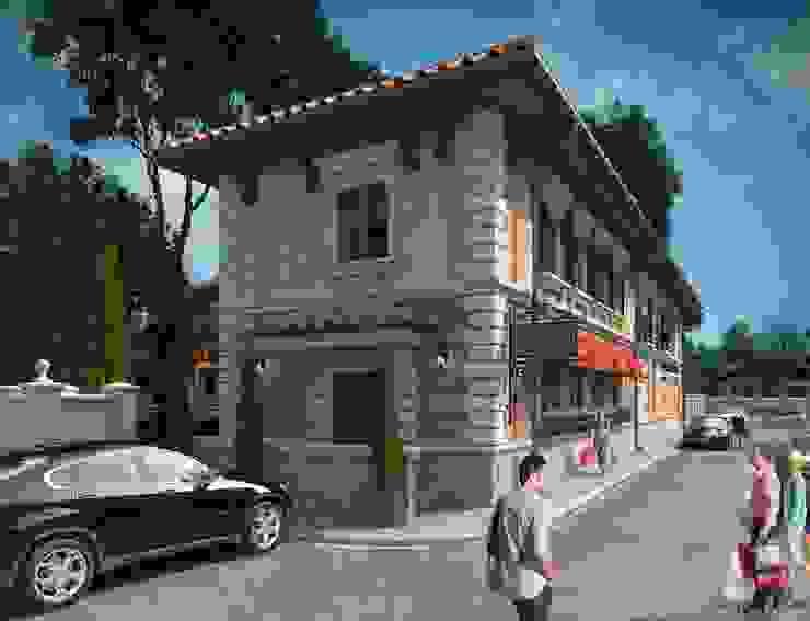Пиццерия <q>La Strada</q> Дома в стиле кантри от Максим Любецкий Кантри