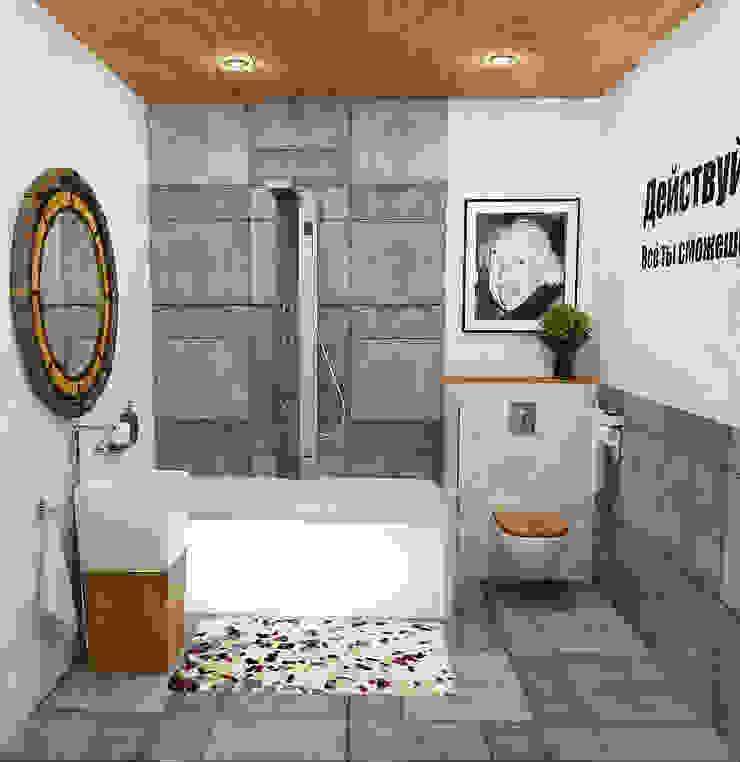 Ванная Ванная в стиле лофт от Olesya Parkhomenko Лофт