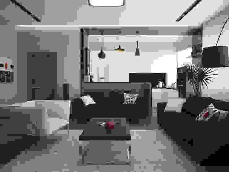 Гостиная Гостиная в стиле модерн от Olesya Parkhomenko Модерн