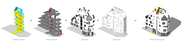 하얀집 White house by designband YOAP
