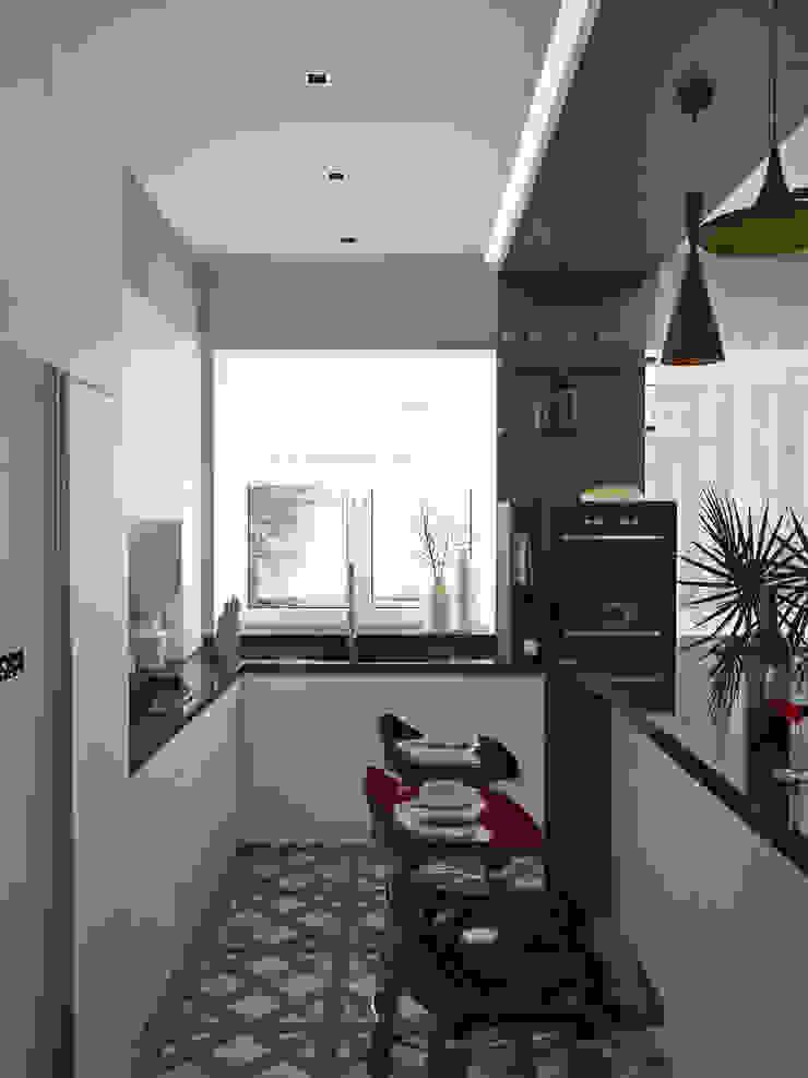Кухня Кухня в стиле модерн от Olesya Parkhomenko Модерн