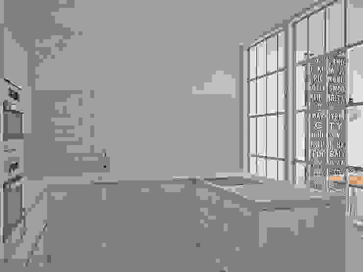 Da Vinci residential Кухни в эклектичном стиле от SHKAF interior architects Эклектичный
